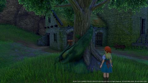 イシの村夜散歩エマ