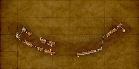 デルカダール城下町・下層宝箱マップ
