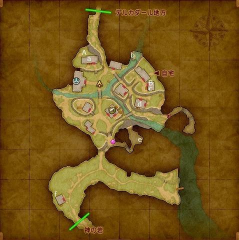 イシの村マップ