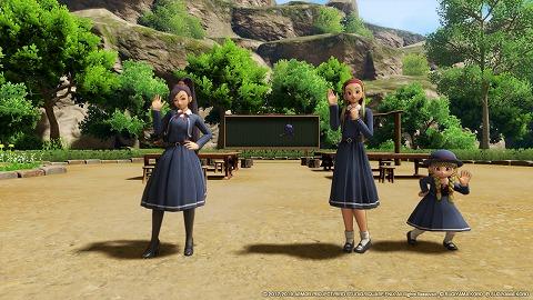 ドラクエ11Sメダ女の制服