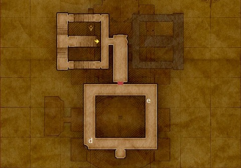 ドラクエ11S異変後デルカダール城3階キラキラ