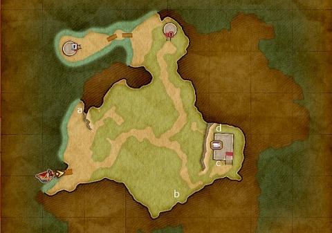 メダチャット地方・西の島キラキラ