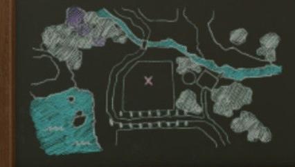 ドラクエ11Sメダル女学園黒板地図
