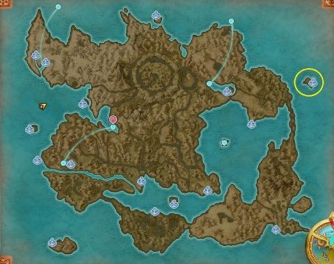 ドラクエ11Sナギムラー村北にある無人島