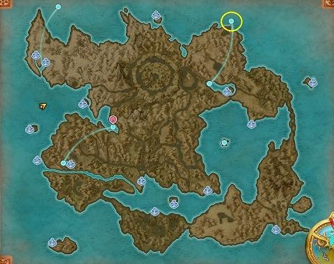 ドラクエ11Sユグノア地方・入り江の島の行き方