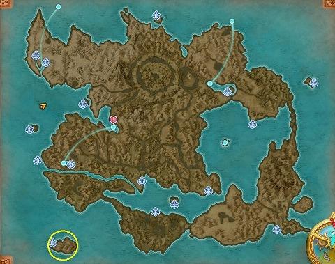 ドラクエ11S名もなき島