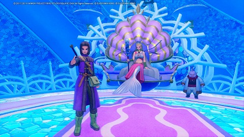 ドラクエ11S海底王国ムウレア女王セレン
