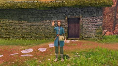 ドラクエ11Sイシの村人服